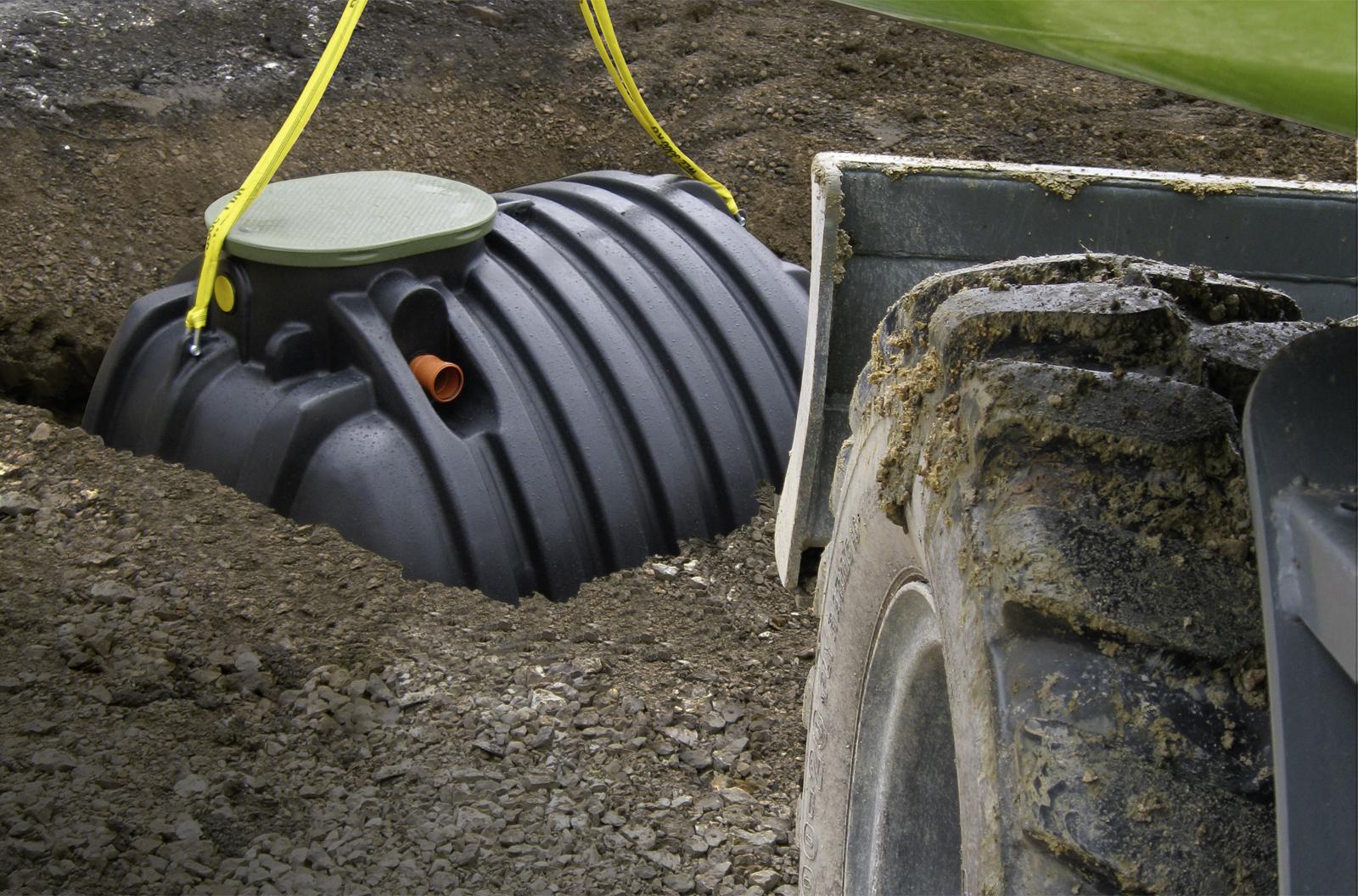 Regenwasserbehälter RTMO Speidel