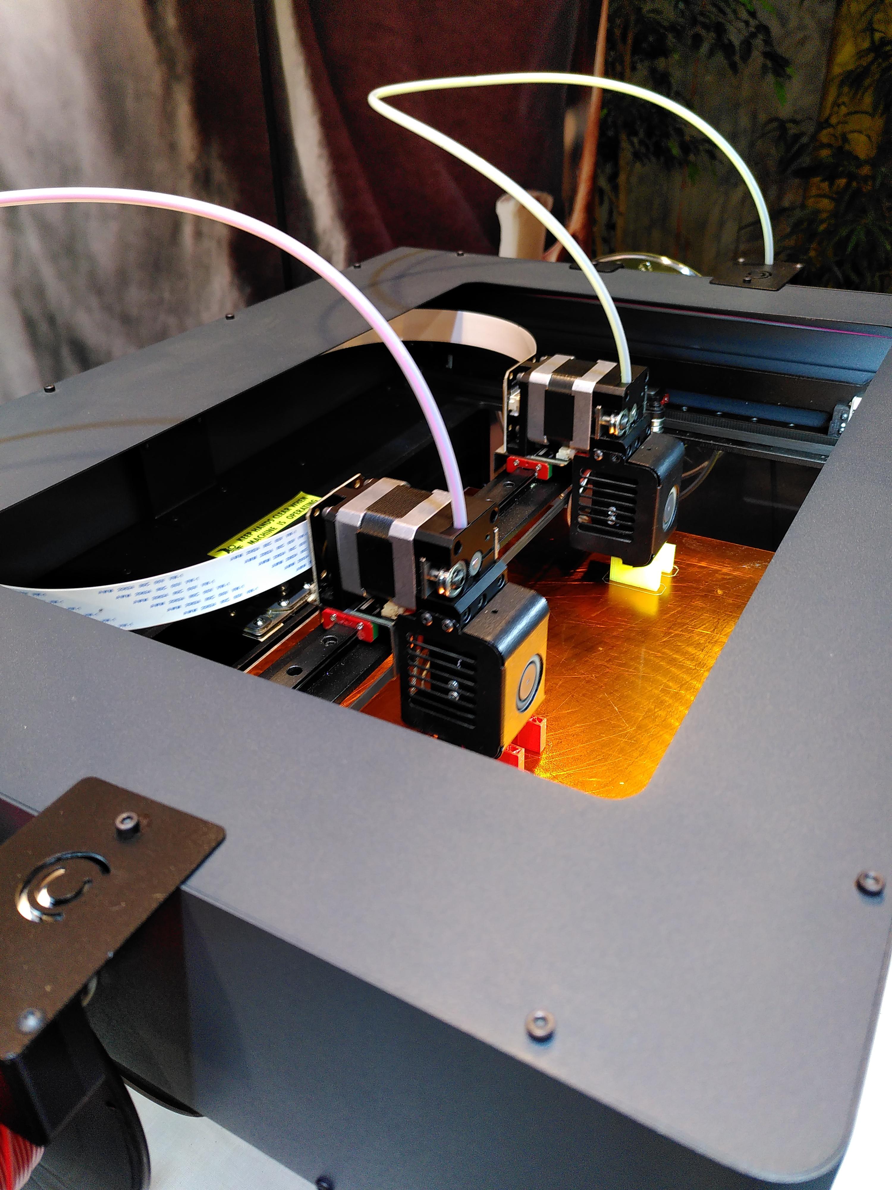 3D Drucker vor Ort: hier werden Tankschlüssel gedruckt