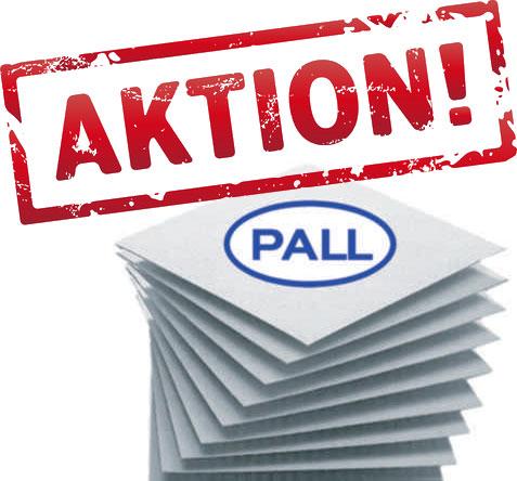 PALL Filterschichten Aktion bis 31.01.2020
