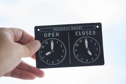 Nos heures d'ouverture