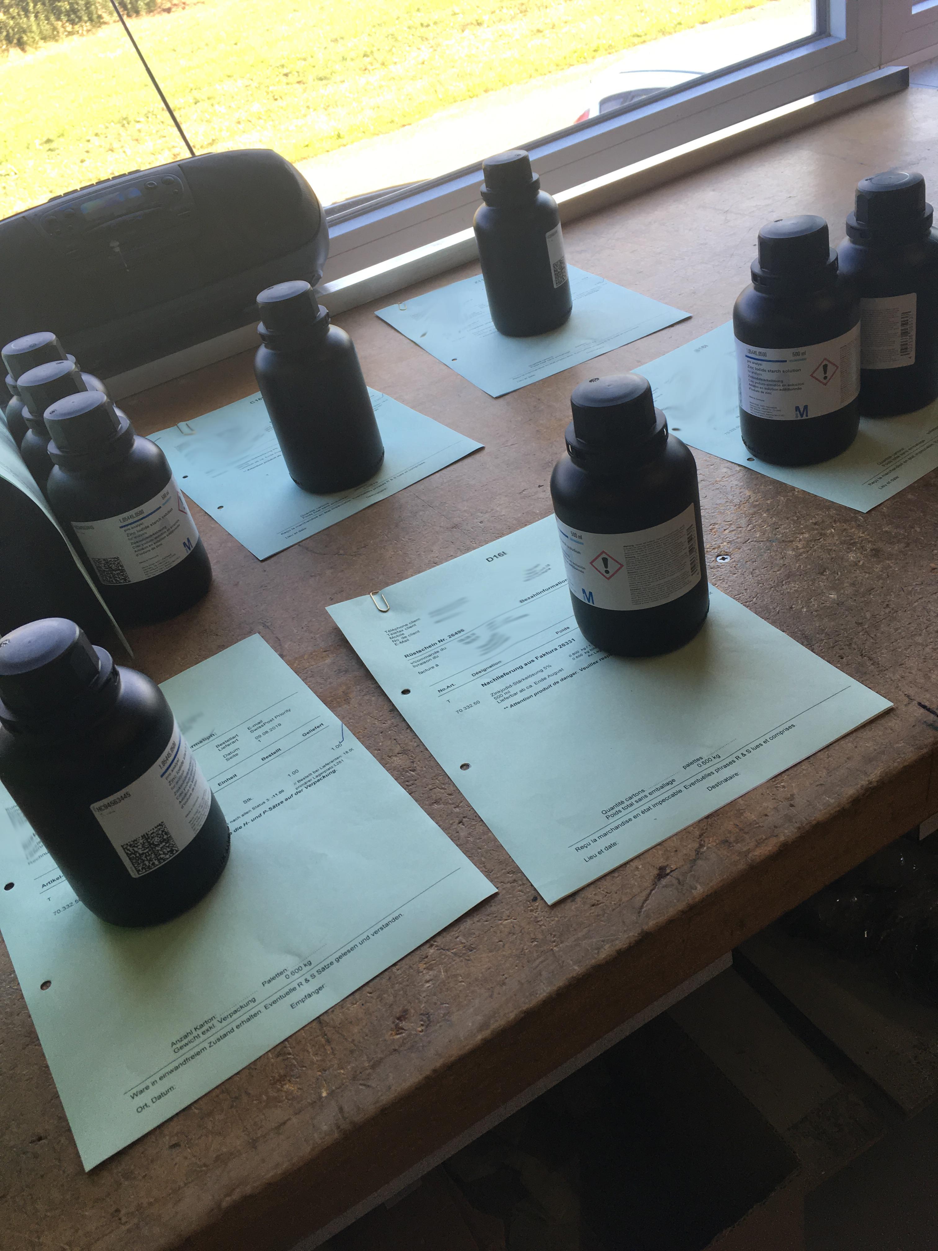 endlich wieder lieferbar: Zinkjodid-Stärkelösung
