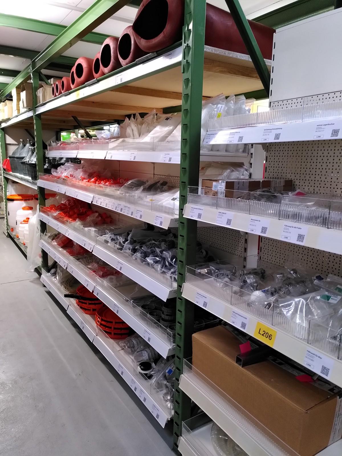 Unser Laden: Behälterzubehör und Ersatzteile