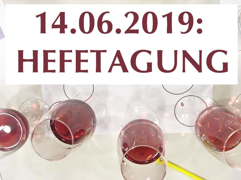 Hefetagung Wädenswil am 14.06.2019