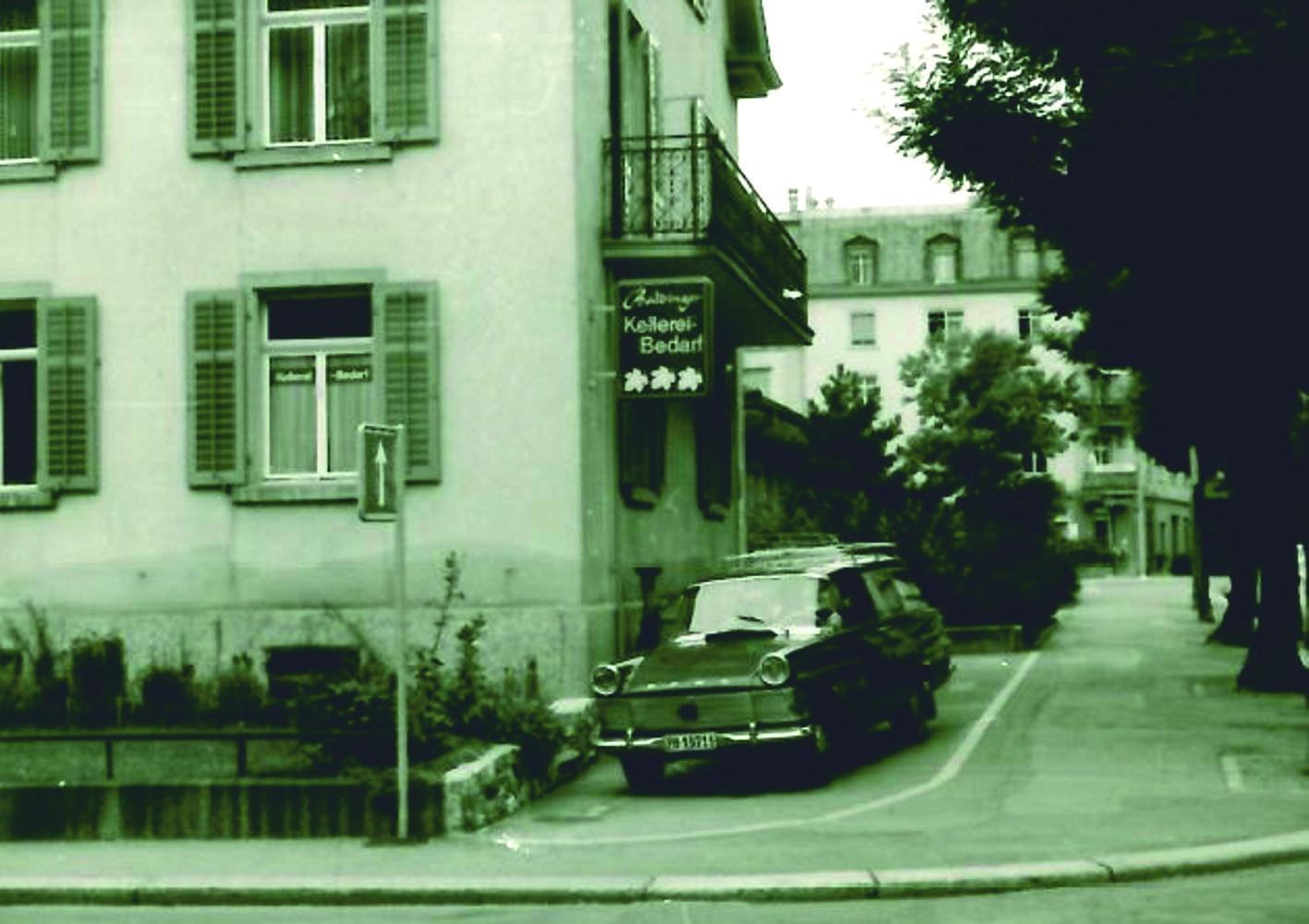 erstes Geschäftslokal in Zürich