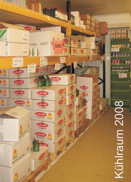 Kühlraum für Lallemand Produkte 2008
