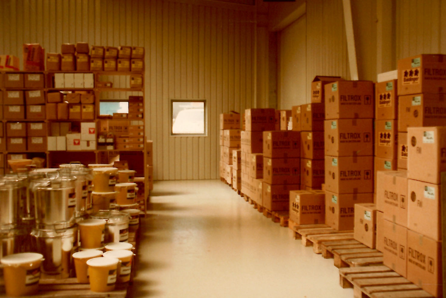 Lager in Fällanden, 1985
