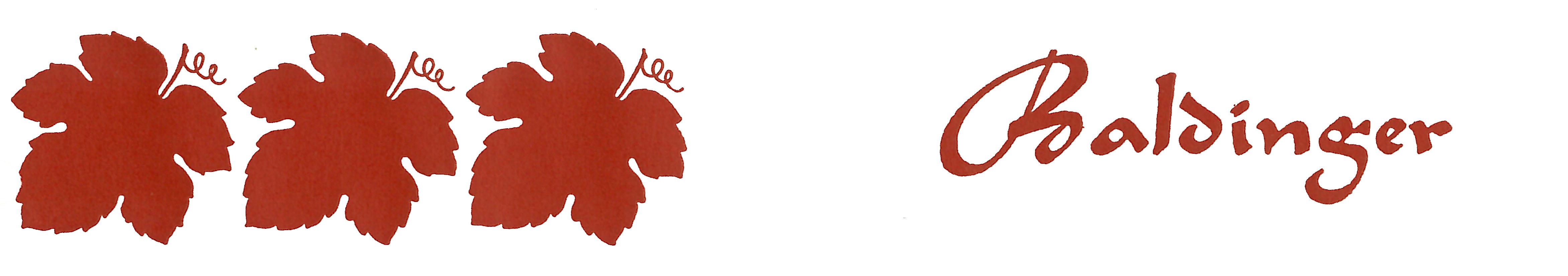 erstes Logo Max Baldinger AG