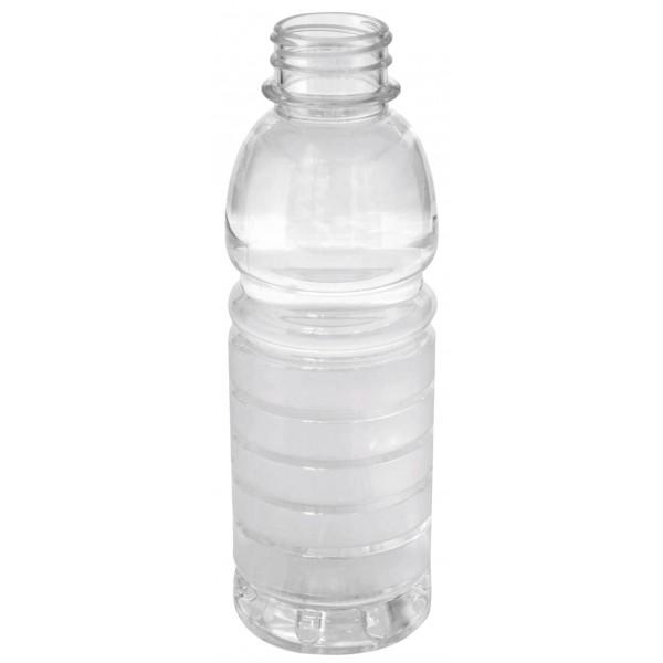 Hotfill-PET Flasche transparent 500 ml 35 g, Mündung 38 mm