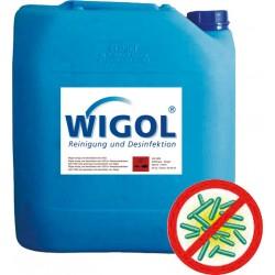 WIGOL Désinfectant de surfaces sans chlore, 0.5 kg UN-Nr. 1170, II ADR classe 3