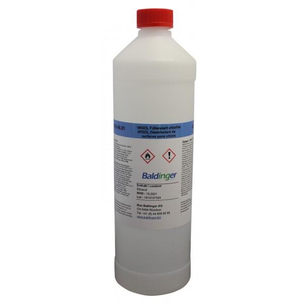 Oberflächendesinfektion/ Füllersteril chlorfrei,0.5kg UN-Nr. 1170, II ADR Klasse 3