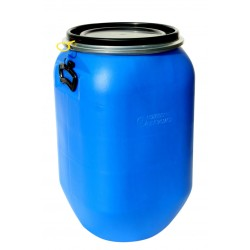 PE-Weithalsfass blau quadratisch 60 l
