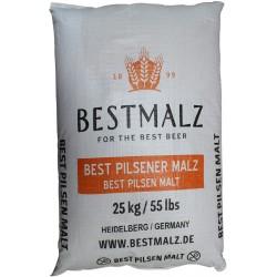 Malt de base EBC 3,0 - 4,9 BEST Pilsener 25 kg