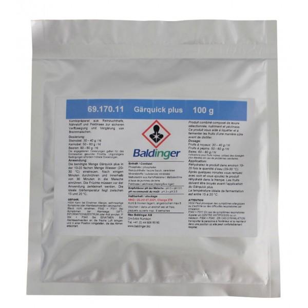 Packung Gärquick plus 100 g zum Verflüssigen und Vergären