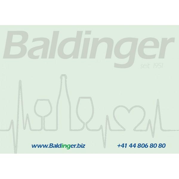 Haftnotizzettel 'Baldinger' grün, 50 Stück pro Block 10 x 7 cm