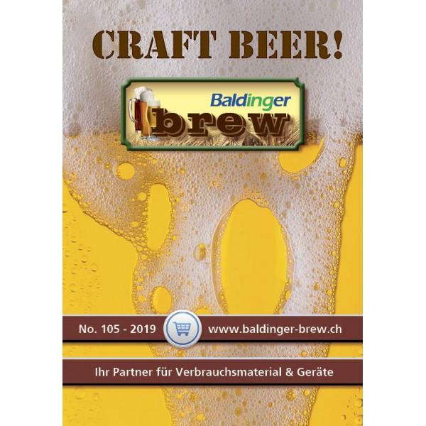 Katalog Baldinger-Brew Ausgabe No 105, deutsch 2019