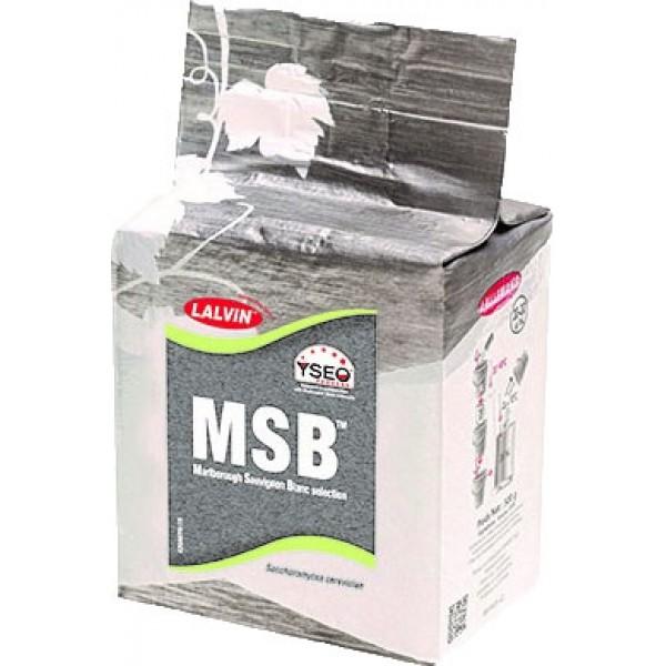 Packung 500 g Reinzuchthefe MSB, speziell für Weisswein (Sauvignon blanc)
