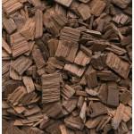 Holzchips 14 kg, 20 mm französische Eiche High Moccha