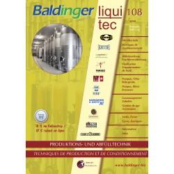 Katalog Baldinger No 108 Produktionstechnik, Lagerung Abfülltechnik, 2020