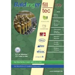 Katalog Baldinger No 109 Filtration, Abfüllung, Verschliessen - 2020