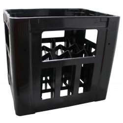 Caisse à bouteilles (vin) pour 15 x 0.75 l (Ø max 73.8 mm) fabriqué à base de plastique recyclé