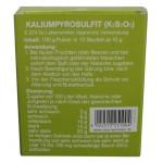 Kaliumpyrosulfit K2S2O5 10 Beutel à 10 g