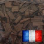 Holzchips 14 kg, 20 mm französische Eiche HIGH CARAMEL