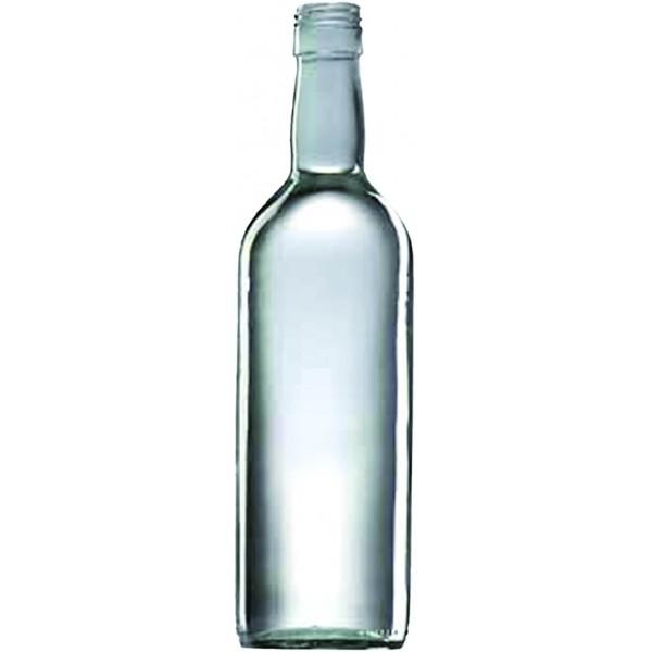 Spirituosen 70 cl rund BVP31 10 Stk. in Folie geschrumpft weiss