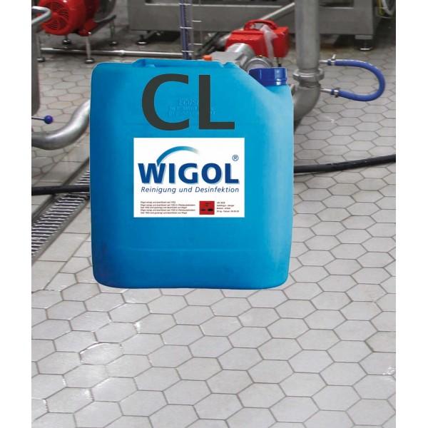 WIGOL Kellerbodenreiniger BR chlorhaltig, 15 kg UN-Nr. 1791, II ADR Kl. 8