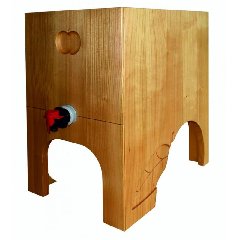 edler mostkasten f r bag in box holz kirschbaum handarbeit max baldinger ag. Black Bedroom Furniture Sets. Home Design Ideas
