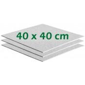 Filterschichten 40x40 cm