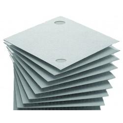 Filterschichten 20x20 cm mit 2 Löchern Online Kaufen