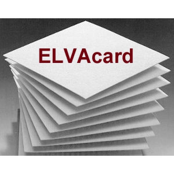 ELVAcard E15 40/40 cm Filterschichten