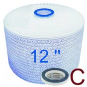 Filtermodule 12'', Adapter C: Flachdichtung