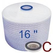 Filtermodule 16'', Adapter C: Flachdichtung
