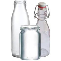 weisse Bügelflaschen, Weithalsgläser (Palettenverkauf) Online Kaufen