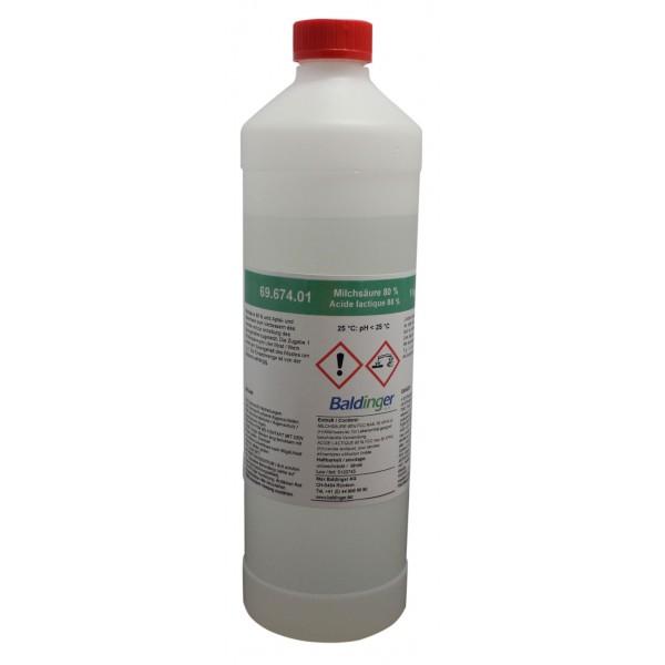 Milchsäure rein E270 80% 1 kg  ca. 800 ml