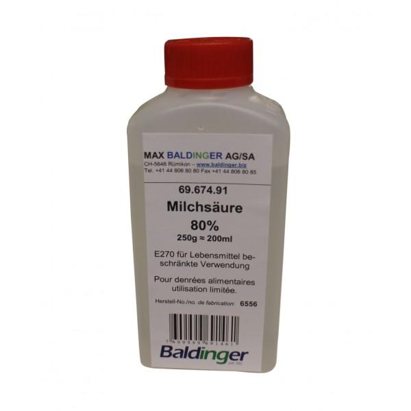 Milchsäure rein 80% 250 g ca. 200 ml