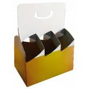 6er Trägerkartons für Bierflaschen