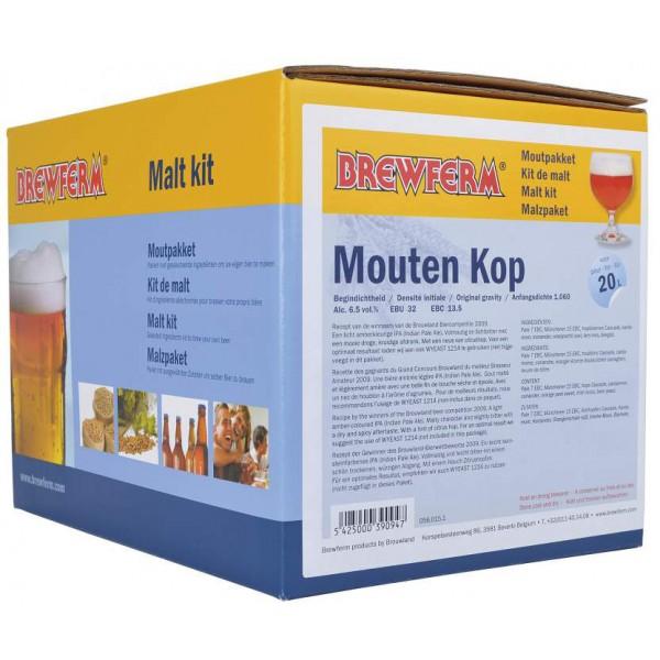Malzpaket Mouten Kop für 20 Liter