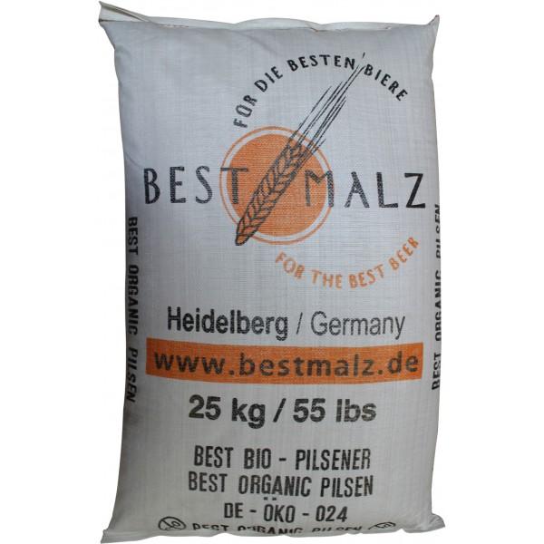 Brühmalz EBC 3 - 5 BEST BioPilsener ECOCERT BIO, 25 kg