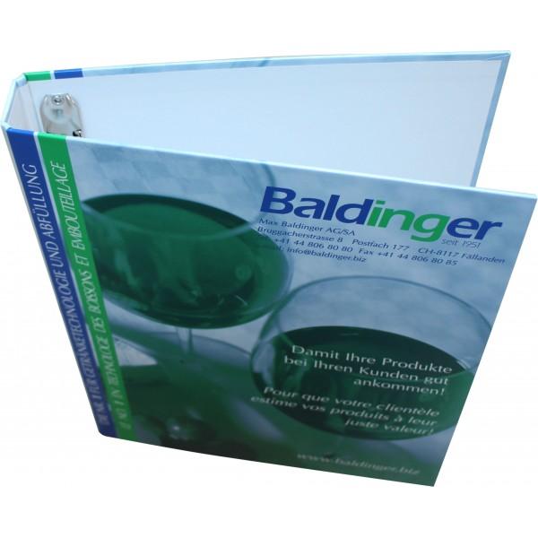 Ring-Ordner Motiv Baldinger (4-Loch), A4