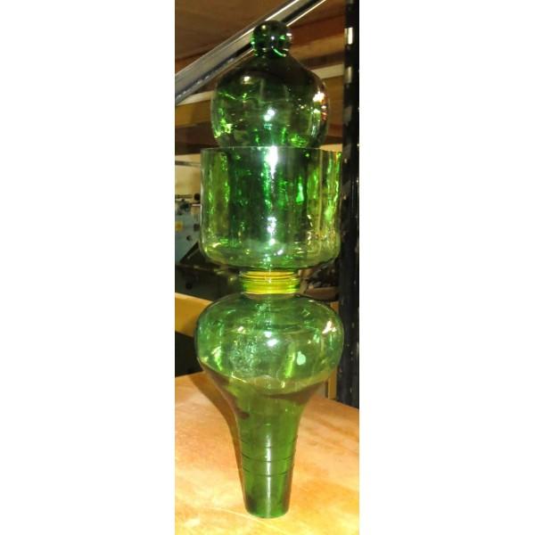Gärfilter antik Grünglas