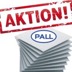 PALL Filterschichten Aktion bis zum 31.1.2020