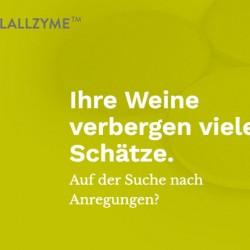 neue Landing-Page für Lallzyme: Anwendung der Enzyme für Wein