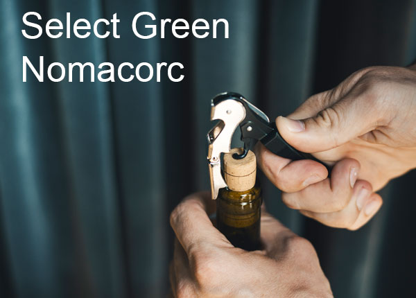 Nomacorc Select Green optimaler Verschluss für Wein