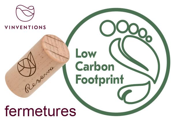 Nomacorc Select Green & Reserva bouchon optimal pour vin, low carbon footprint