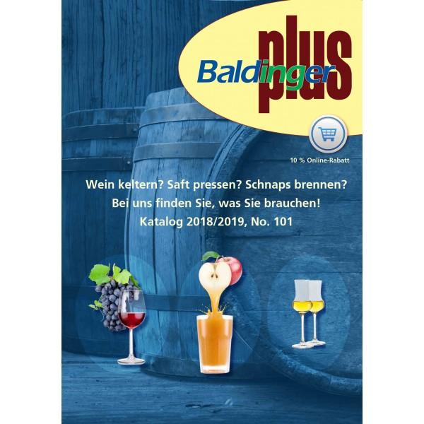 Katalog Baldinger AG Ausgabe No 101, deutsch 2018/2019
