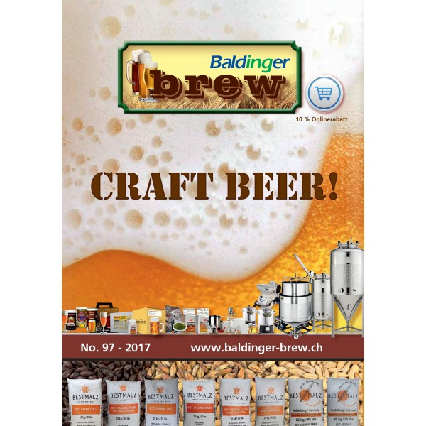 Katalog Baldinger-Brew Ausgabe No 97, deutsch 2017