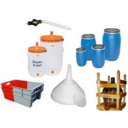 Behälter, Hilfsgeräte