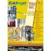 Katalog Baldinger No 92 Produktionstechnik, Lagerung Abfülltechnik, 2016/2017
